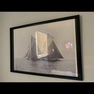 Wall Art - Beautiful 11x18 Sailboat Wall Art